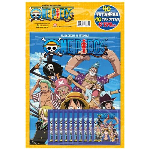 Pack Album + 10 sobres One Piece