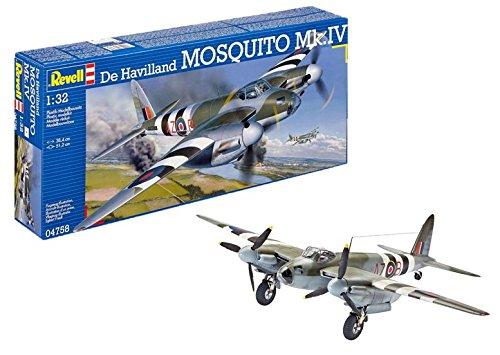 Revell Maqueta De Havilland Mosquito MK. IV, Kit Modello, Escala 1:32 (4758) (04758)