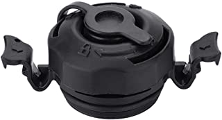 Dilwe Air Valve Cap, 3 in 1 Air Valve Secure Seal Cap for Intex Inflatable Airbed Mattress Black
