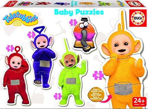 Teletubbies - Puzzles progresivos para niños (Educa Borrás 17014)