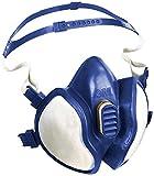 3M 4277 Respiratore con Semimaschera Protettiva senza Manutenzione, Protezione Vapori Organici, Inorganici e Acidi, Polveri