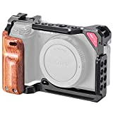 UURig Upgrade Metal Cage with Wood Handle for Sony A6400/ A6500 / A6600...