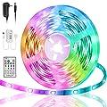Led Strip Lights 16.4ft, smareal Led Lights Music Sync, Color Changing LED Lights Strip, Led Lights for Bedroom, Party, Home Decoration