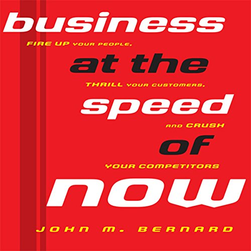 Business at the Speed of Now audiobook cover art
