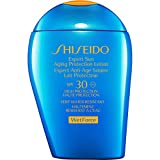 Protetor Solar Facial Shiseido Expert Sun Aging Protection Lotion FPS 30 100ml