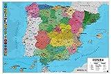 Póster mapa España - Grupo Erik Editores