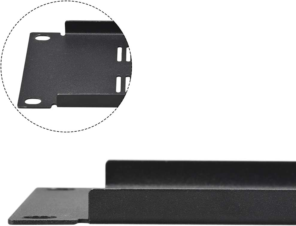 uxcell 2U Blank Rack Mount Panel Spacer with Venting for 19-Inch Server Network Rack Enclosure or Cabinet