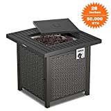 TACKLIFE Propane Fire Pit Table,...