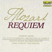 Mozart: Requiem / Auger, Ziegler, Hadley, Krause, Shaw (1990-10-25)