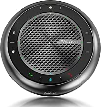 PALOVUE Bluetooth Speakerphone, Touch Control USB Conference Speaker and Microphone with CVC 8.0 Noise Cancelling and 360° Enhance Voice Pickup, 15Hours Calling Time for Home Office