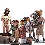 Triciclo Editores, S.L. Belén J.L.Mayo Escena Vendimia Completa - 6 Figuras...