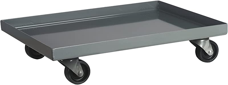 Akro Mils AC803618M26 Powder Coated Steel Panel Dolly For 36 X 18 Bin Cabinets Grey