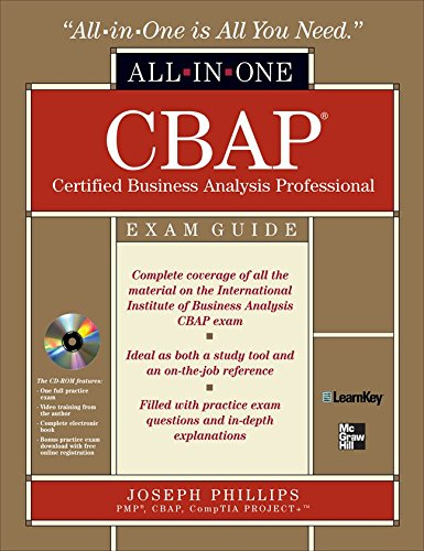 CBAP Certified Business Analysis Professional All-in-One Exam Guide with CDROM