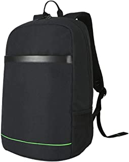 Student Youth Backpack, Red USB Charging Interface Computer Backpack, Casual Multi-Function Backpack,Black