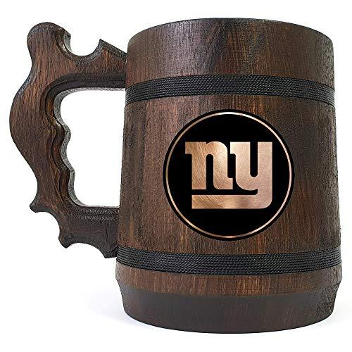 New York Giants Beer Mug, NFL Beer Gift, Sport Beer Stein, American Football Team, Beer Lover Gift, Beer Stein, Gift for Gamer, Gift for Him, Engraved Beer Mug