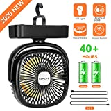 Best Camping Fans - COMLIFE Portable LED Camping Lantern with Tent Fan Review