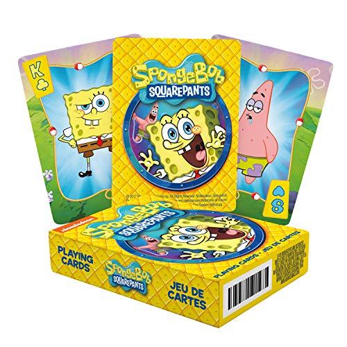 NM Aquarius Spongebob Squarepants Set of Playing Cards