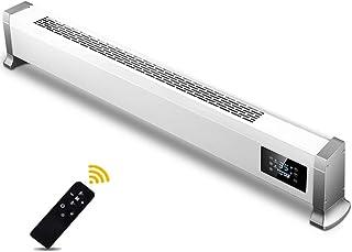 Aidasone Calefactor Eléctrico Bajo Consumo - Termostato Regulable - Radiador - Convección - (2200W /Calentamiento Rápido/Mando a Distancia/3 Niveles de Temperatura/Panel Táctil LED),White