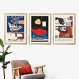 Le Corbusier Ausstellung Poster Museum Kunstdrucke