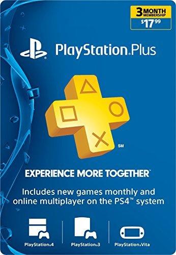 اسعار Playstation Plus: عضوية لمدة 3 أشهر [Digital