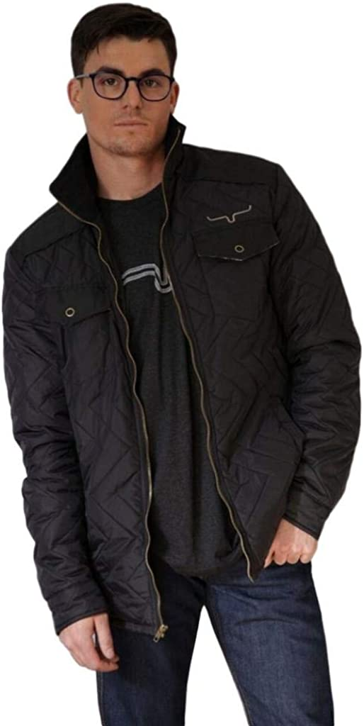 Kimes Ranch Men's Skink Quilted Shirt Jacket