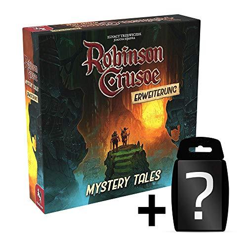 Preisvergleich Produktbild Robinson Crusoe: Mystery Tales - Erweiterung / DEUTSCH / Abenteuer-Spiel Kooperativ / Set inkl. Kartenspiel