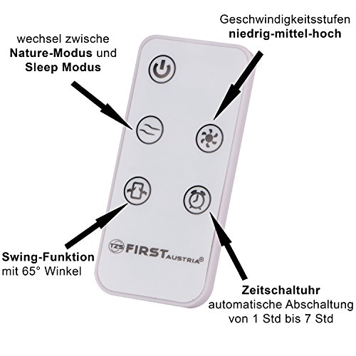 Säulenventilator mit Fernbedienung: TZS First Austria Bild 4*