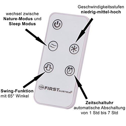 Säulenventilator mit Fernbedienung: TZS First Austria Bild 6*
