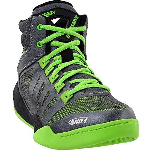 AND1 Overdrive - Zapatillas de baloncesto para hombre, Gris (gris), 40 EU