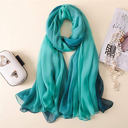 YWSZJ Bufanda con Estampado Floral para Mujer, Hijab de Viscosa, Gran tamaño, Especial, con borlas, Bufanda Fina, Manta, Abrigo (Color : A)