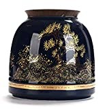 Urna Funeraria Mini Urna Funeraria Sellado De Cerámica Pequeña Urnas Conmemorativas para Cenizas Humanas Urnas Funerarias para Exhibición De Adultos O Mascotas En El Hogar (Color: B)