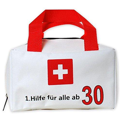Close Up Tasche 1. Hilfe für alle ab 30 - Erste Hilfe Tasche (12x19x11 cm), mit Trageriemen
