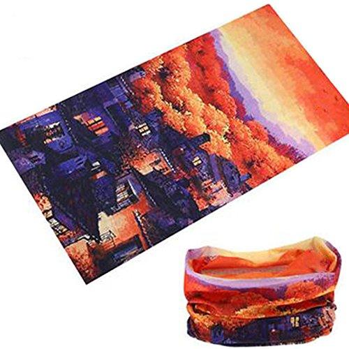 Lumanuby creativos Pañuelo Protección Solar Pañuelo Multifunción para Hombre y Mujer Toalla...