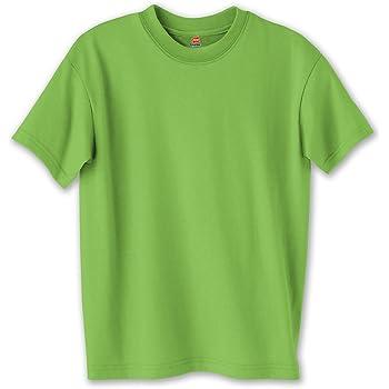 Hanes ComfortBlend EcoSmart Crewneck Mens T-Shirt/_Purple/_L