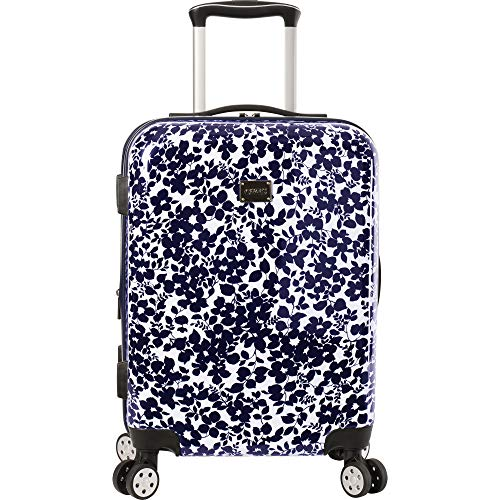 Chaps 28' Expandable Spinner Luggage Suitecase, Dark Navy Floral