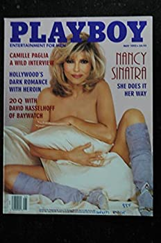 PLAYBOY US 1995 05 MAY COVER NANCY SINATRA INTERVIEW CAMILLE PAGLIA DAVID HASSELHOFF CINDY BROWN