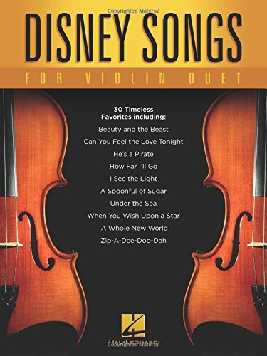 Disney Songs For Violin Duet -For 2 Violins- (Book): Songbook für Violine