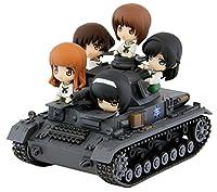 ぺあどっと ガールズ&パンツァー IV号戦車D型 エンディングVer. ノンスケール全長約90mm フィギュア5体付 塗装済完成品 PD11
