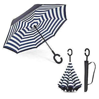 LiféUP Paraguas invertido con