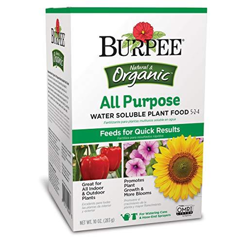 Burpee AP Organic All Purpose Water Soluble Plant Food, 10 oz