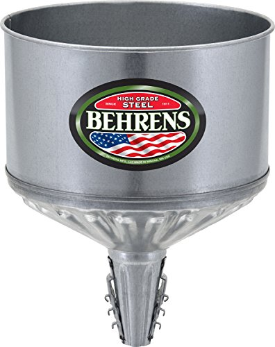 Behrens Tf 123 Lock-On Galvanized Tractor Funnel - Quantity 6 Farm Implement Hardware