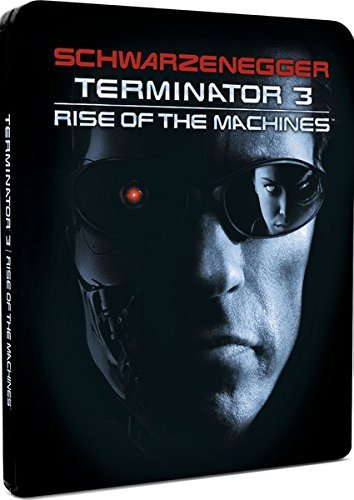 Terminator 3: Rise of the Machines - Zavvi Exclusive Limited Edition Steelbook Blu-ray, ohne deutsche Tonspur, Englisch + Itali