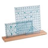 Milward Ruler/Template Rack, 50 x 10cm, Beech Wood