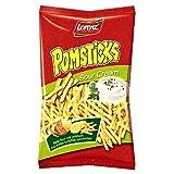 Lorenz Pomstick Crema agria 85 g Paquete de 10
