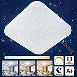 Oeegoo Lámpara de Techo LED Regulable con Control...