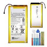 E-yiviil - Batteria di ricambio HZ40 compatibile con Moto Z2 Play XT1710 SNN5985A 3,8 V con strumenti