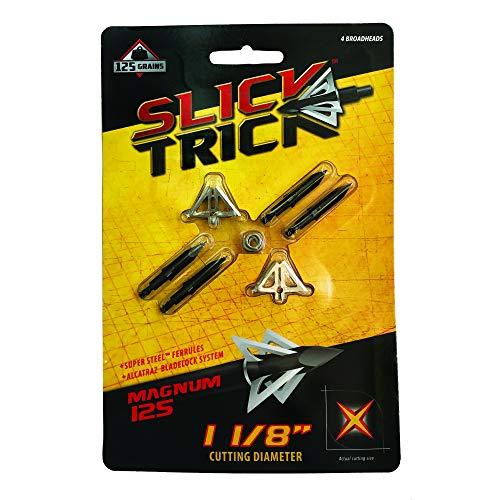 Slick Trick Broadhead 1 1/8' Magnum 4 Pack