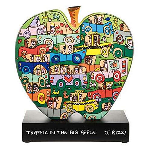 Goebel Traffic in The Big Apple - Figur Pop Art James Rizzi Bunt Porzellan 26102301