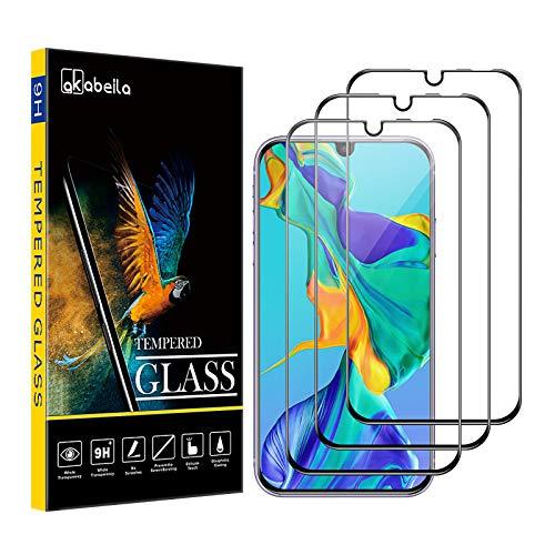 AKABEILA Cristal Templado Compatible para Huawei P30 Lite Pr
