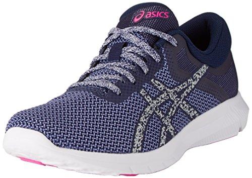 Asics Nitrofuze 2, Zapatillas de Running Mujer, Persian Jewel Glacier Grey Pink Glow, 37 EU